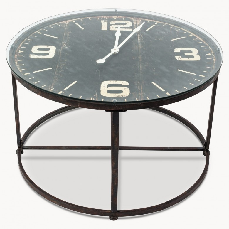 Fairfield Clock Coffee Table Tables One World Trading Company